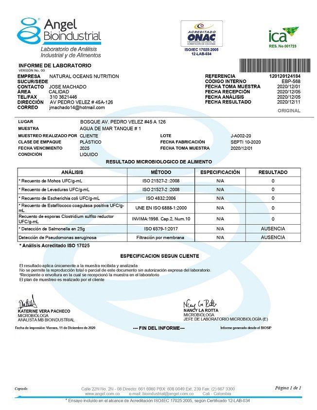 20201201 Analisis Microbiologico Laboratorio Angel Agua de Mar 01_Dic_2020_page-0001